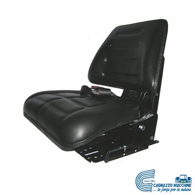 Sedile Eco c/molleggio Verticale Regolabile | AMA - Cagnazzo Macchine